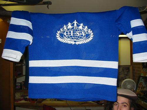 Hockey Jerseys for Fundraising.