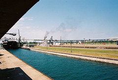 Sault Ste Marie Locks (wck) Tags: soolocks saultstemarie michigan locks