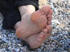 Foot Fetish (Tendance Flou) Tags: beach foot sand toes pebbles normandy etretat footfetish cutefeet sandyfeet tendanceflou hisfeet hisfeetonapebblebeach antifer feetonvacation infidle obsdsexuel