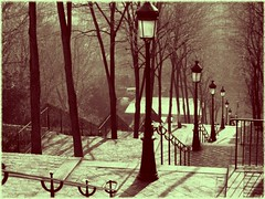 parisian steps - by Janesdead