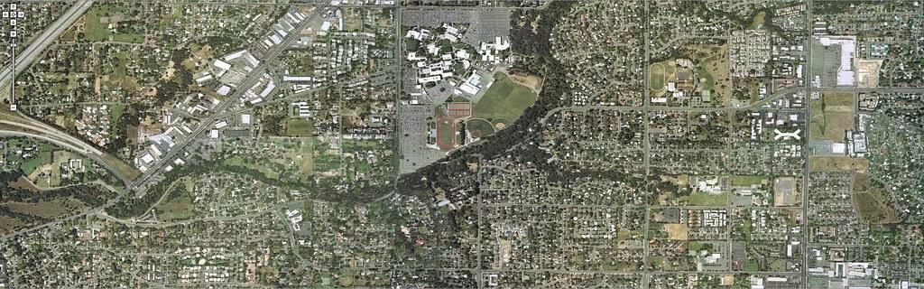 Sacramento, CA memory map