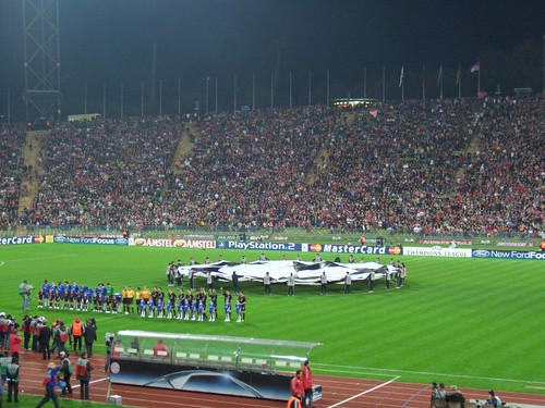 'The last Champions League game at Munich's Olympic Stadium' by probek