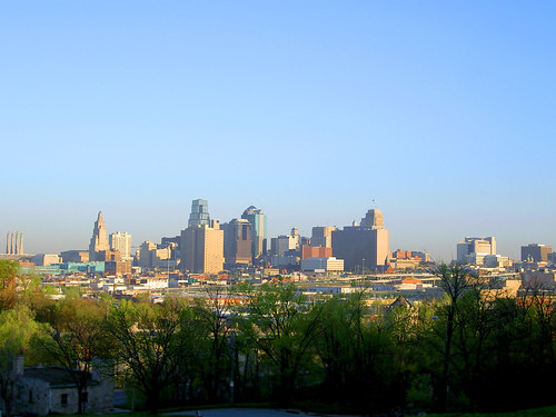 Kansas City Skyline, Morning