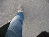 and walking... (_Jer_) Tags: italy me walking foot jeans bologna psfk mycooljeans