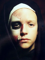 Me as Split-face, 8 years old - by DerrickT