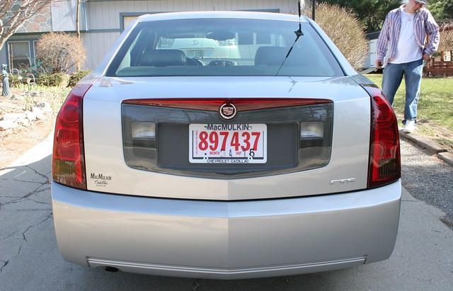 cadillac cts car silver 2004