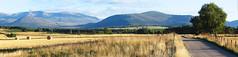 One year on... (jonhughes) Tags: uk panorama mountains landscape scotland flickrversary cairngorms hugin