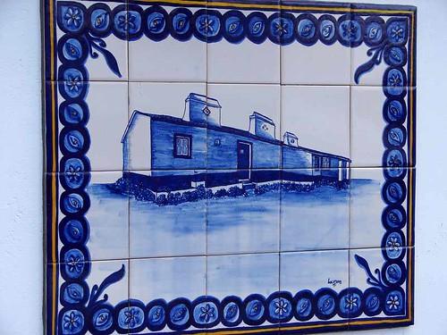 Painel de azulejos. (by Loca....)