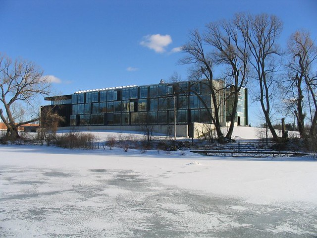 Perimeter Institute from across the pond