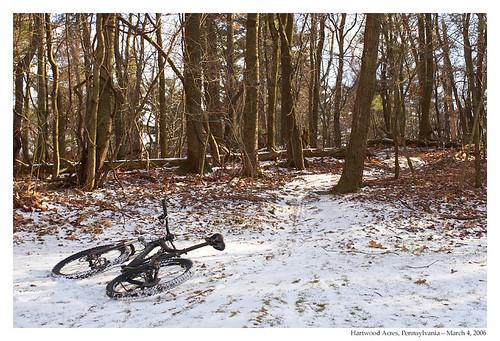 Mountain Biking in Hartwood Acres