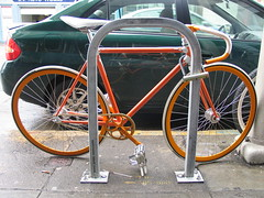 Orange is in (MacEwen) Tags: california coffee bike fixedgear custombike ritualroasters
