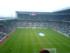 Celtic Park, Glasgow. Celtic v Rangers, November 2005 (tcbuzz) Tags: park jock scotland football stadium glasgow celtic stein rangers