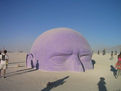 Head in the Sand, Burning Man 2005