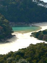 Abel Tasman National Park, New Zealand (La tartine gourmande) Tags: park new zealand abel tasman