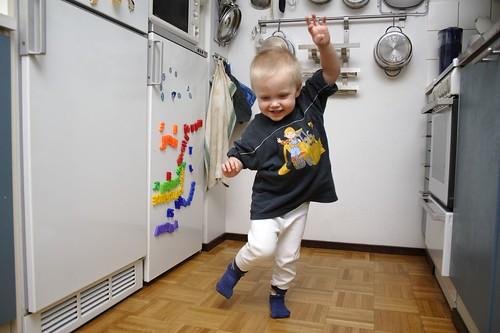 a dancing child