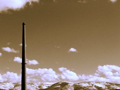 The Old Stack, Some New Snow (MaureenShaughnessy) Tags: cold clouds march montana stack form thebigsky smelter coldseason airisalive seasonalrhythmslight seasonalrhythmsformwinter seasonalrhythmswinter seasonalform bigskylullaby