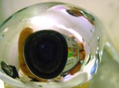 kikekoi (Becem) Tags: camera light me self mirror photo focus sony double miroir effect appareil lenses objectif robinet effet inox
