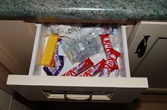Chocolate drawer (Bashed) Tags: uk red england food d50 nikon europe chocolate drawer british kitkat sh1