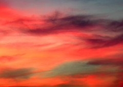 Sky on fire (where is reality?)