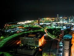 Kuwait city (iAli) Tags: street building car night kuwait q8