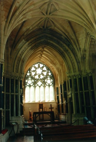 Kylemore Abby cathedral interior