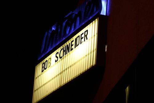 Bob Schneider Marquee at Antones