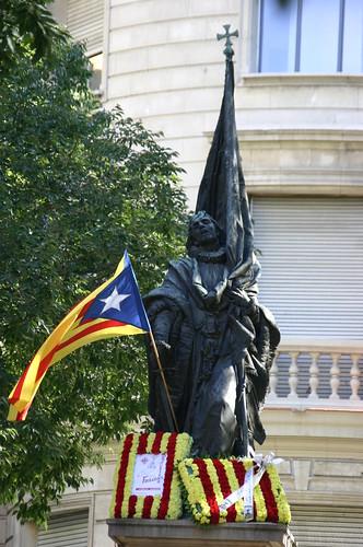 Estatua a Rafael Casanova i Comes