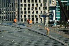 sss060325 (mugley) Tags: construction crane australia melbourne victoria spencerst dfo southerncrossstation port1010 westendplaza