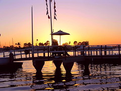The quiet waters (katifelkai) Tags: sunset newportbeach pacificocean calendarshot toinspireapainter