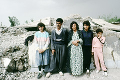 The crimes of Saddam Hussein (Chris Kutschera) Tags: family house iraq middleeast dictator humanrights rubble saddamhussein kurdistan crimes irak halabja dynamiting