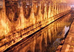 Reflection of a forbidden place... (Alex Vinter (aka Wam Mosely)) Tags: water tag3 taggedout night tag2 tag1 forbidden government reflction