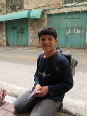 Mohamed - smiling child (leeabroad) Tags: palestine tel illegal hebron settlement settler occupation rumeida