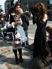 Goth Crossplay (megadem) Tags: street fruits fashion japan japanese tokyo costume cosplay gothic lolita harajuku streetfashion crossplay