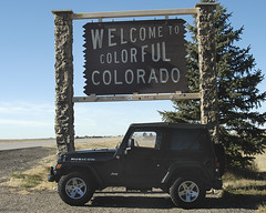 Welcome to Colorado (InSitu Photography) Tags: colorado jeep 2006 welcome facebook rubicon