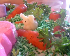 Marzipan Bunny (MonkeyBites) Tags: bunny cake easter decoration carrot marzipan
