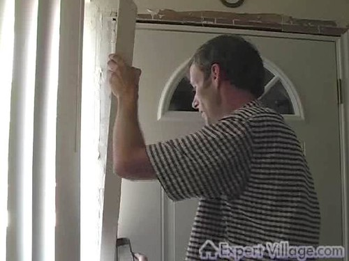Replacing Exterior Door Trim