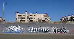 Naka, Tunks, Hero (funkandjazz) Tags: sanfrancisco california graffiti hero um hcm lords naka tunks osd 2srv
