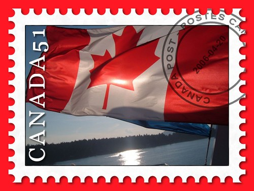Stamp of Canadian