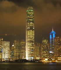 Lightshow in Hong Kong (Squeezyboy) Tags: hongkong interestingness9 i500