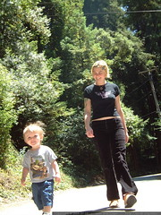 walking down sequoia drive - dscf8634