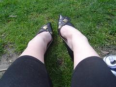one of the hot pair of shoes bought in paris (_Rochie) Tags: london erin ryan marathon r rach gem rochie gemscake