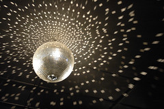 Do a little dance... (unflux) Tags: ball disco lights dance floor d70 ceiling discoball gettman