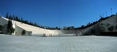 Athens: Kallimarmaro Stadium (panoramic)