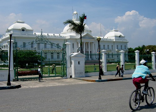 this is what haiti's presidential palace used to look like.  today it is rubble.  help restore haiti.