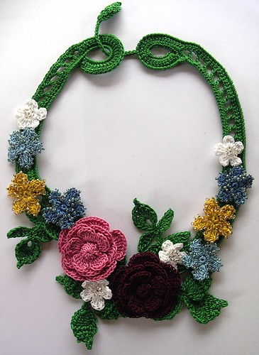 Free Crochet Necklaces Patterns Only