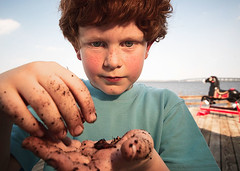 1146000585 (Michael Czeiszperger) Tags: boy fish boys water childhood river kid fishing child wide sigma wideangle super pole freckles worm boyhood boyslife kidsworld superwide childsworld