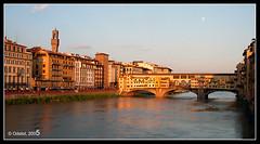 Ponte vecchio 2 (manolotoledo) Tags: 2005 italy puente atardecer nikon italia mt ponte toledo florencia coolpix firenze manolo viejo vecchio e2500 odelot manolotoledo