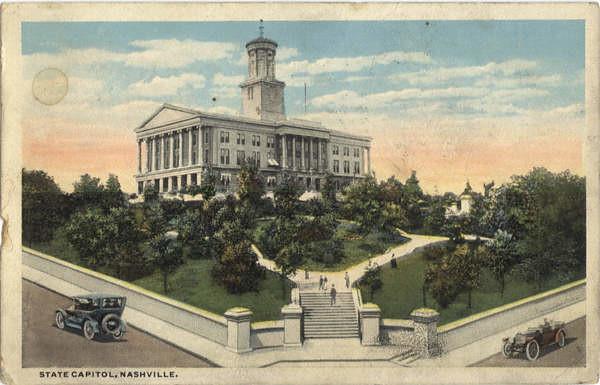 1918 Post card: capitol