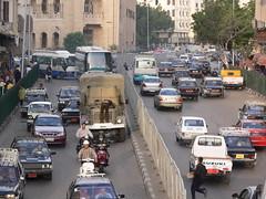 Cairo traffic - P1020493