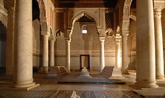 At Rest (Stever's Roost) Tags: architecture morocco mausoleum moorish marrakech column saadian